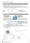 Optik: Die Lochbildkamera - Infotext, Aufgaben und Lösungen Preview 3