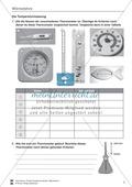 Wärmelehre: Temperatur, Temperaturmessung und verschiedene Temperaturskalen + Historisches- Aufgaben + Lernzielkontrolle + Lösungen Preview 3