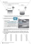 Wärmelehre: Ausdehnung bei Temperaturänderung in Natur und Umwelt, Teilchenmodell und Anomalie des Wassers. Mit Aufgaben und Lösungen. Preview 4