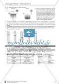 Wärmelehre: Ausdehnung bei Temperaturänderung in Natur und Umwelt, Teilchenmodell und Anomalie des Wassers. Mit Aufgaben und Lösungen. Preview 6