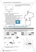 Elektrizitätslehre / Magnetismus: Magnetkräfte, Magnetfelder und die Geschichte des Kompasses. Mit Infotext, Aufgaben und Lösungen. Preview 4