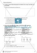 Elektrizitätslehre / Magnetismus: Test / Lernzielkontrolle zu Elektrostatik, elektrischen Storm und Stromkreisen und Magnetkräften und - feldern mit Lösungen. Preview 2
