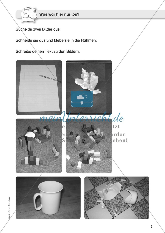 Schreibanlässe: Texte zu Bildern schreiben Preview 0