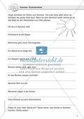 Jahreszeitliche Schreibanlässe: Sommer: Reimwörtern + Wortschatz Preview 1