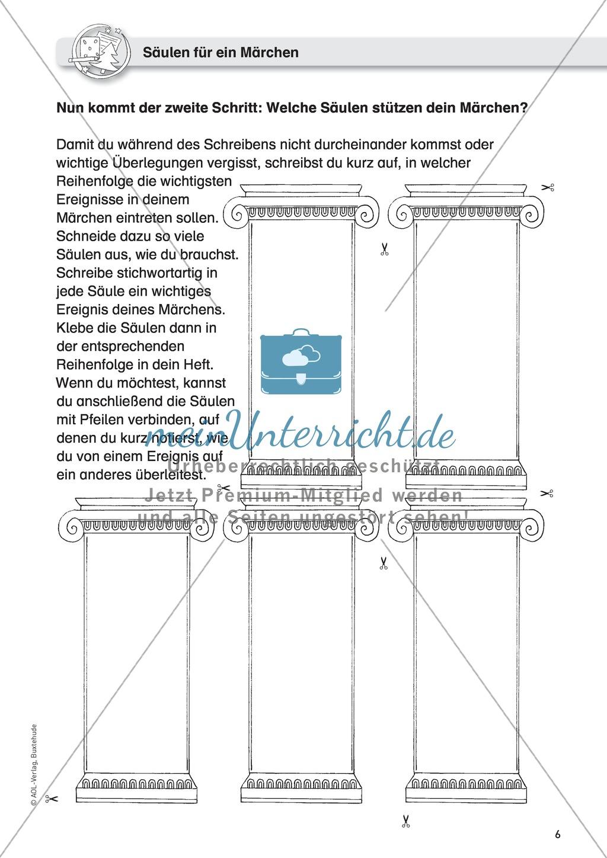 Schreibideen entwickeln, Schreibplan Preview 2