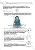 Gegenstandbeschreibung als Schreibanlass: Eine Puppe beschreiben mithilfe von Wortschatzkisten Preview 2