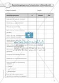 Beobachtungsbogen für Lehrer zum Texteschreiben in Klasse 3 und 4 Preview 1