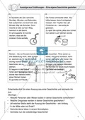 Fantasiegeschichten als Schreibanlass: Textauszüge als Grundlage für eigene Geschichten nutzen Preview 1