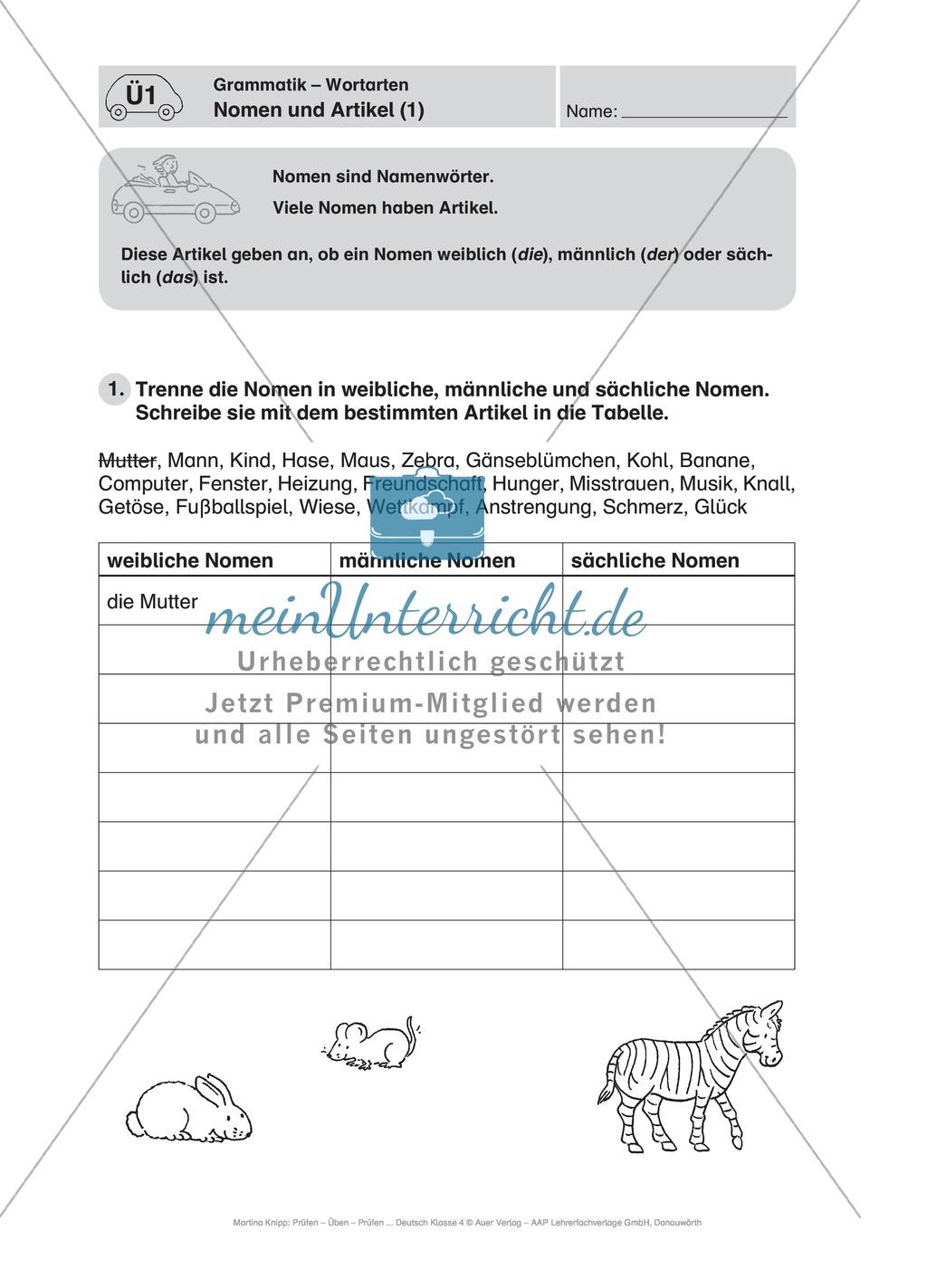 Führerschein für die deutsche Sprache in der 4. Klasse: Stationenübungen für die Bearbeitung des Fahrschultestes. Preview 4