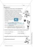 Informierende Texte lesen und verstehen: Einen Zeitungsbericht lesen + inhaltliche Fragen beantworten Preview 1