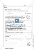 Informierende Texte lesen und verstehen: Einen Brief lesen + inhaltliche Fragen beantworten Preview 1