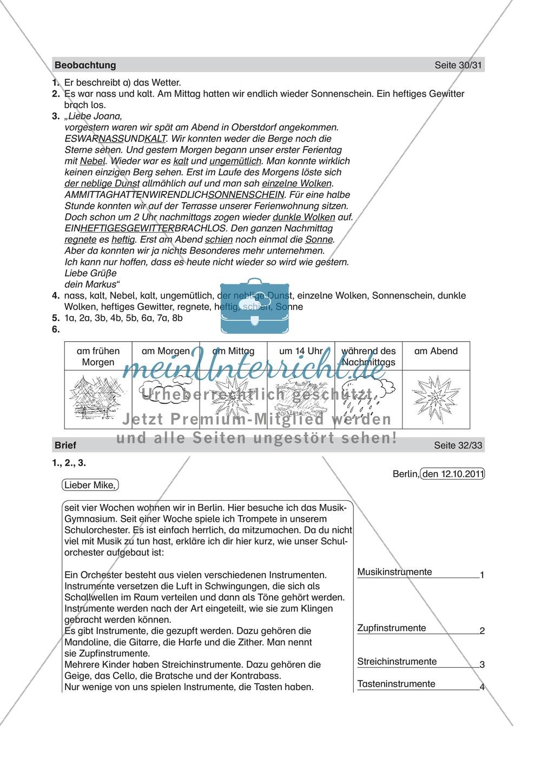 Informierende Texte lesen und verstehen: Einen Brief lesen + inhaltliche Fragen beantworten Preview 2