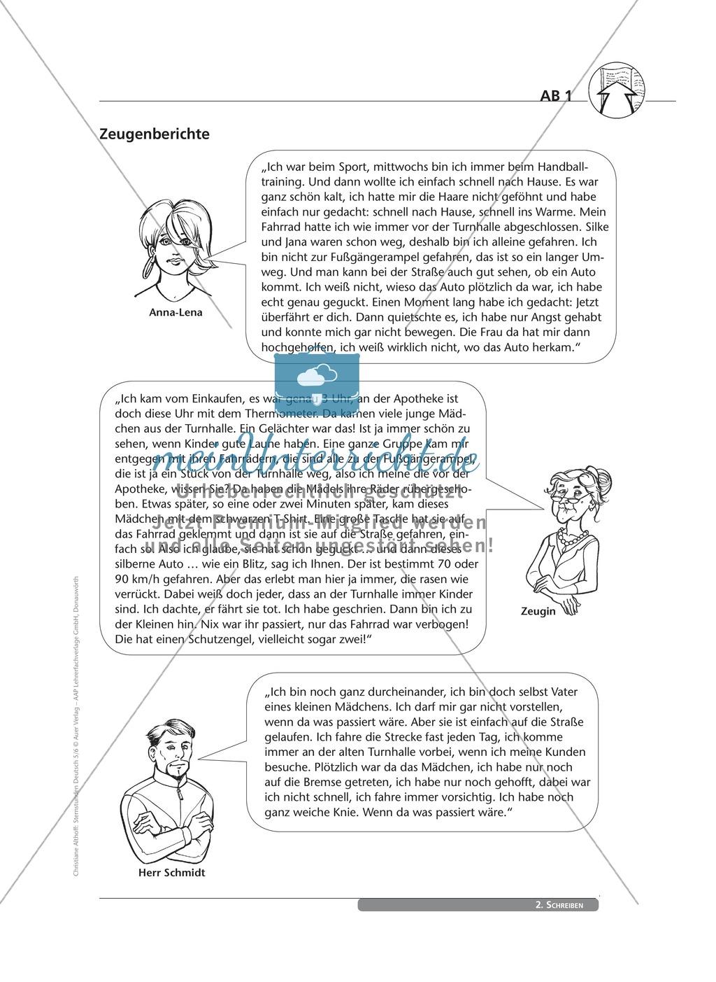 Schreibkompetenzen entwickeln: Der Bericht Preview 1
