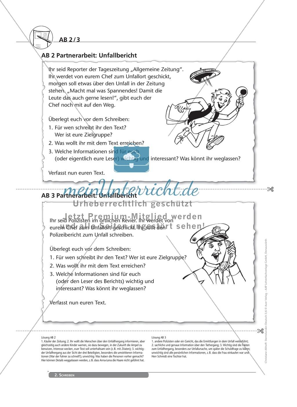 Schreibkompetenzen entwickeln: Der Bericht Preview 2