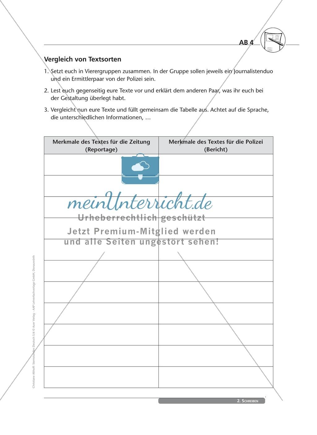 Schreibkompetenzen entwickeln: Der Bericht Preview 3