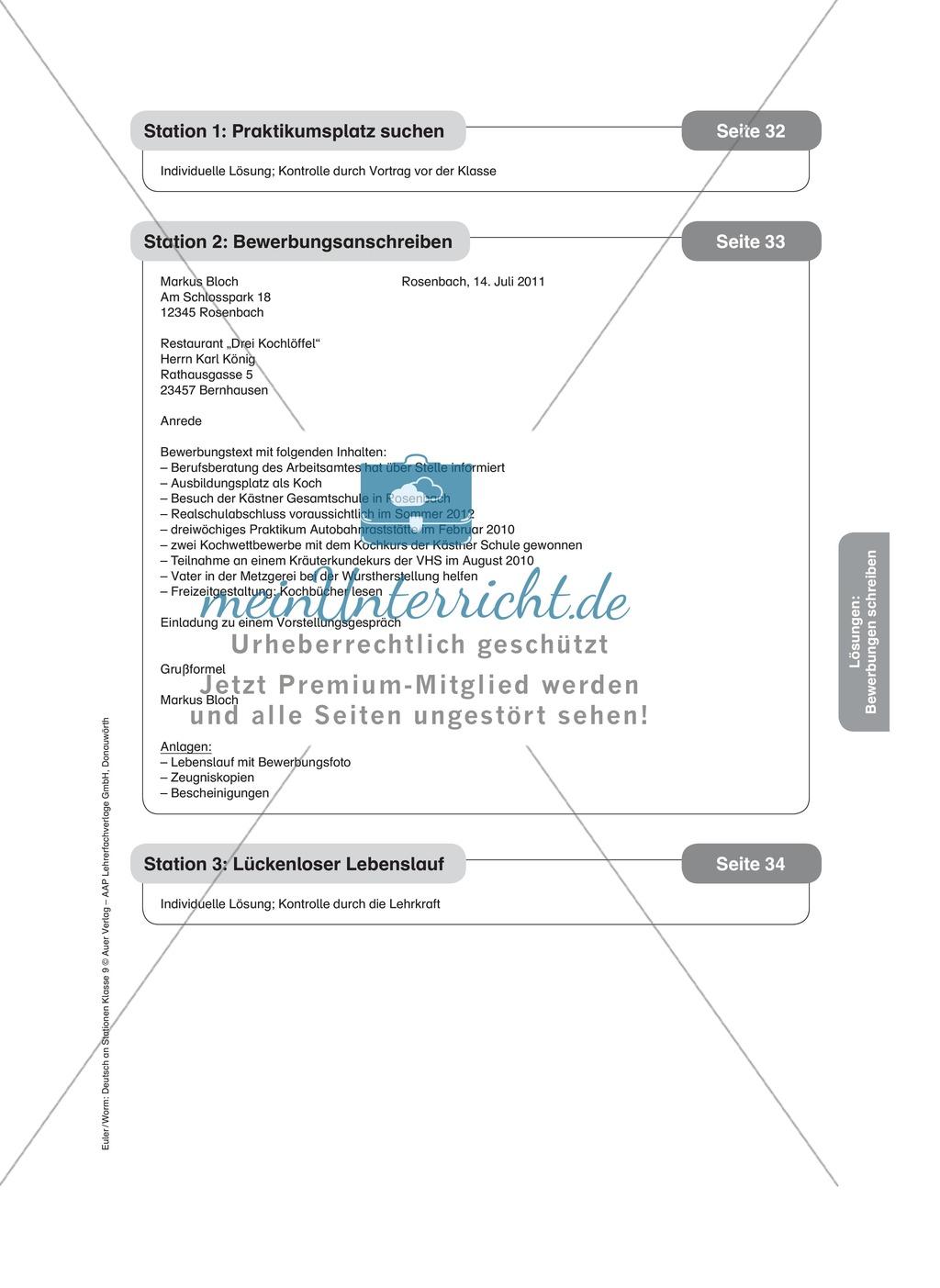 Eine Bewerbung schreiben: Anschreiben, Lebenslauf und Online-Bewerbung verfassen Preview 5