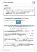 Abschreibdiktate: Lückentexte zu ähnlichen Konsonanten Preview 4