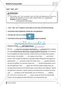 Übungsdiktate: Ähnliche Konsonante - Wortlücken Preview 2