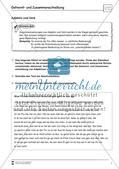 Übungsdiktate: Getrennt- und Zusammenschreibung Preview 1