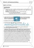 Übungsdiktate: Getrennt- und Zusammenschreibung Preview 2