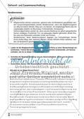 Übungsdiktate: Getrennt- und Zusammenschreibung Preview 3