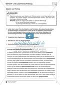 Abschreibdiktat: Getrennt und Zusammenschreibung von Adjektiv + Partizip Preview 1