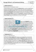 Abschreibdiktat: Getrennt und Zusammenschreibung von Adjektiv + Partizip Preview 2