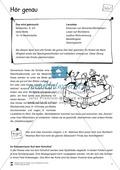 Lesen mit Bewegung: auditive Wahrnehmung mit Wortkarten Preview 1