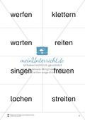 Lesen mit Bewegung: auditive Wahrnehmung mit Wortkarten Preview 2
