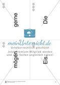 Wortkarten für Rollbrett-Sätze (Lese-Bewegungsziel) Preview 10