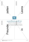 Wortkarten für Rollbrett-Sätze (Lese-Bewegungsziel) Preview 11