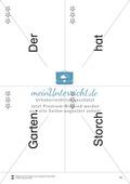 Wortkarten für Rollbrett-Sätze (Lese-Bewegungsziel) Preview 12