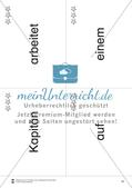 Wortkarten für Rollbrett-Sätze (Lese-Bewegungsziel) Preview 14