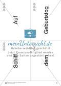 Wortkarten für Rollbrett-Sätze (Lese-Bewegungsziel) Preview 15
