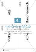 Wortkarten für Rollbrett-Sätze (Lese-Bewegungsziel) Preview 16