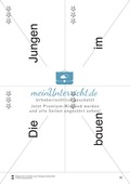 Wortkarten für Rollbrett-Sätze (Lese-Bewegungsziel) Preview 17