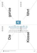 Wortkarten für Rollbrett-Sätze (Lese-Bewegungsziel) Preview 19