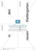 Wortkarten für Rollbrett-Sätze (Lese-Bewegungsziel) Preview 20