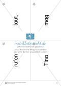 Wortkarten für Rollbrett-Sätze (Lese-Bewegungsziel) Preview 2