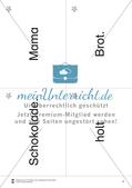 Wortkarten für Rollbrett-Sätze (Lese-Bewegungsziel) Preview 3
