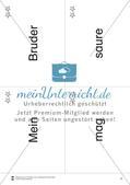 Wortkarten für Rollbrett-Sätze (Lese-Bewegungsziel) Preview 4