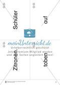 Wortkarten für Rollbrett-Sätze (Lese-Bewegungsziel) Preview 5