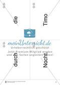 Wortkarten für Rollbrett-Sätze (Lese-Bewegungsziel) Preview 7