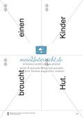 Wortkarten für Rollbrett-Sätze (Lese-Bewegungsziel) Preview 9