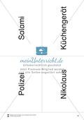 Silbenzählen mit Bild- und Wortkarten: phonologische Bewusstheit, Wortdurchgliederung Preview 10