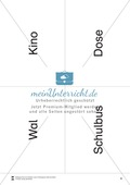 Silbenzählen mit Bild- und Wortkarten: phonologische Bewusstheit, Wortdurchgliederung Preview 8