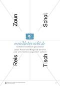 Lesen mit Bewegung: Lesen auf Wortebene + Gleichgewichtsschulung Preview 7