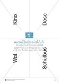 Lesen mit Bewegung: Lesen auf Wortebene + Gleichgewichtsschulung Preview 8