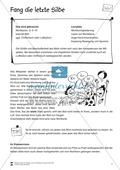 Lesen mit Bewegung: Silben - Ballspiel Preview 1