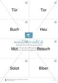 Lesen mit Bewegung: Wortdurchgliederung - Lesen auf Wortebene Preview 2
